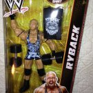 Mattel WWE Elite Collection Series 21 RYBACK Action Figure includes Barbells & Entrance Shirt
