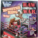 "WWF WWE Jakks Pacific 1997 Raw is War Monster Wrestling Ring 18"" x 18"" [No Action Figures] New"