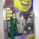 McFarlane DreamWorks Shrek Movie Fiona with Leg Kicking Action with Fire Eggs & Rat on a Stick New