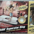 Mattel WWE Wrestling RAW Superstar Ring John Cena & Big Show Action Figures New