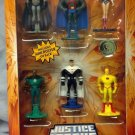 Mattel DC Universe Justice League Unlimited Attack of the Justice Lords 6 Pack Mini Figures New