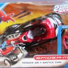 Hasbro Spider-Man Vehicle Spider XR-1 Battle Car With with SpiderMan Bonus Action Figure New