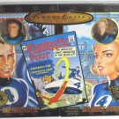 """Toy Biz Fantastic Four Famous Covers Limited Mr. Fantastic & Invisible Woman 8"""" Action Figures New"""