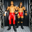 USED WWE Mattel Wrestling Family Fury Series 11 The Usos - Jimmy Uso & Jey Uso Action Figure 2-Pack