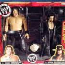 WWE Jakks Pacific Wrestling Exclusive Limited Edition  Undertaker & Khali Action Figure 2-Pack New