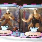 WWF WWE Jakks Pacific Superstars Legends Series 1 Complete Set Andre-Snuka-Blassie-Albano New