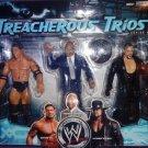 WWE Jakks Treacherous Trios Series 6 Batista, Teddy Long & Undertaker Action Figure 3 Pk New