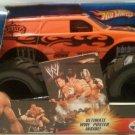 Mattel Hot Wheels Monster Jam 1:24 Scale Monster Truck 2006 WWE BATISTA with Black Rims New