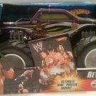 Mattel Hot Wheels Monster Jam 1:24 Scale Monster Truck 2006 WWE 619 REY MYSTERIO with White Rims New