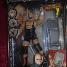 WWE Jakks Pacific Deluxe Aggression Series 15 Tazz Action Figure with Denting Chair NEW