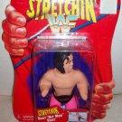 WWF WWE Playmates 1997 Classic Superstars Stretchin' Bret Hit Man Hart Stretch Figure New