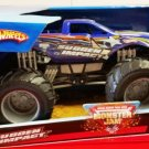 Mattel Hot Wheels Monster Jam 1:24 Scale Monster Truck 2007 SUDDEN IMPACT with Grey Rims New