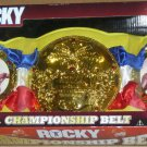 WWE Jakks Pacific Rocky Balboa Championship Belt World Title Stallone & Apollo Creed New