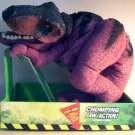 "Kenner Jurassic Park The Lost World T-REX Puppet Tyrannosaurus Rex Plush Chomping Jaw Action 22"" New"