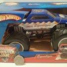 Mattel Hot Wheels Monster Jam 1:24 Scale Monster Truck 2006 EQUALIZER with White Rims New