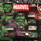 Maisto Marvel Super Hero 20-piece Die Cast 2002 Car Collection #12284 NEW