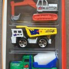 Mattel Matchbox Construction Heroes 5 Pack Gift Set 1:64 Scale Collectible Die Cast Cars New
