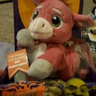 "MGA Dreamworks Shrek the Third Movie 9"" Dronkey Plush Stuffed Half Dragon - Half Donkey New"