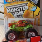 Mattel Monster Jam 2011 RAP ATTACK 10/80 - 1:64 Scale Truck with TATTOO New