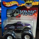 Mattel Hot Wheels 2002 Monster Jam Metal Collection #21 MANIAC Vehicle - 1:64 Scale Truck New