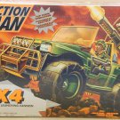"Hasbro Action man 4x4 12"" Army Military Jeep Vehicle with Missile Launching Cannon NEW"