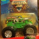 Mattel Monster Jam 25th Anniversary Edition Grave Digger #40 1:64 Scale Die Cast Truck New