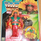 """Hasbro WWF WWE Official Wrestling Ricky """" The Dragon"""" Steamboat Action Figure - French Card New"""