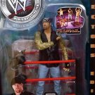 WWF WWE Jakks Pacific Wrestling  Fatal 4-Way Undertaker Action Figure with Ring Accessory New
