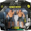 Jakks UFC Ultimate Battles: Exclusive Forrest Griffin vs Stephan Bonnar Deluxe Action Figure 2 Pack