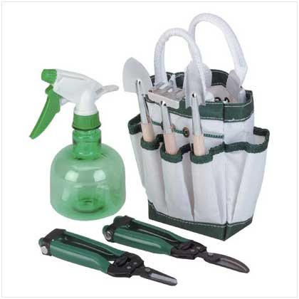 Garden Tote with Tools #34246