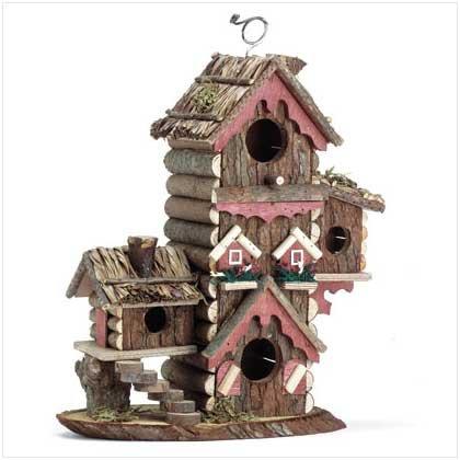 Gingerbread Style Birdhouse #30206
