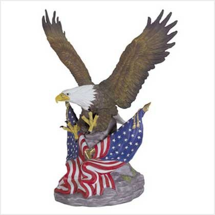 Porcelain Figurine-Let the Eagle Soar #29156