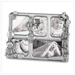 Pewter Baby Collage Frame #38675