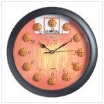 Basketball Design Clock #37193