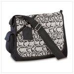 Snakeskin Messenger Bag #38726