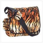 Tiger Print Messenger Bag #38728