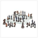 Deluxe Civil War Chess Set #37172