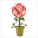 Pink Rose Topiary #38249