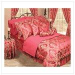 Red Bedding Ensemble -30 piece #38598