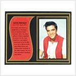 Elvis Biography Plaque #39279