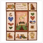 Country Home Fleece Blanket #35665