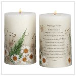 Marriage Prayer Scented Candle #33080