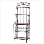 Bakers Style Wine and Glass Rack #34775