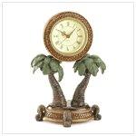 Palm Tree Clock #36005