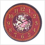 Oversized French Floral Clock #39151