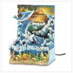 Dolphin Sunset Water Fountain #38801
