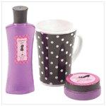Rose and Lavender Body Scrub Set #38057