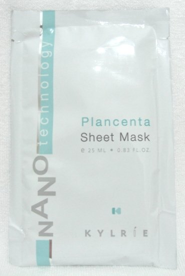 Kylrie: Plancenta Mask Sheet