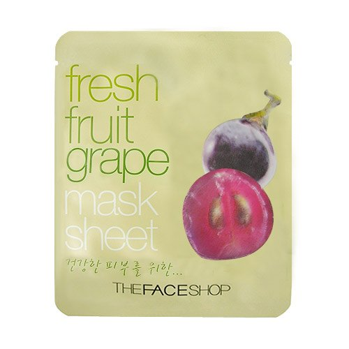 THEFACESHOP: Fresh Fruit Grape Mask Sheet