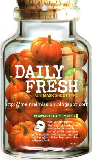 VOV: Pumpkin Cool Slimming Mask